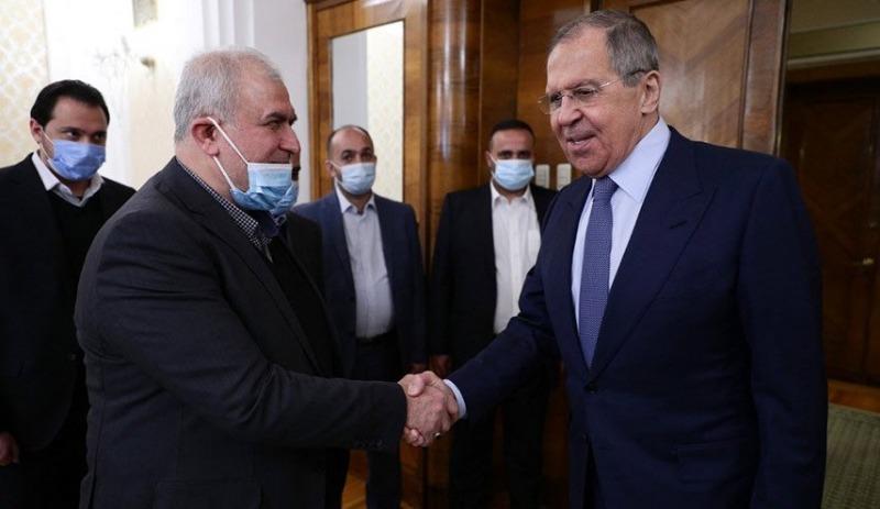"""""""لقاء الاصدقاء"""".. ما الذي دار بين وفد حزب الله ولافروف؟"""