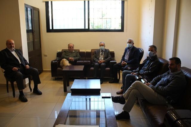 النائب سعد يستقبل وفداً من أمانة سر تجمع المؤسسات الأهلية