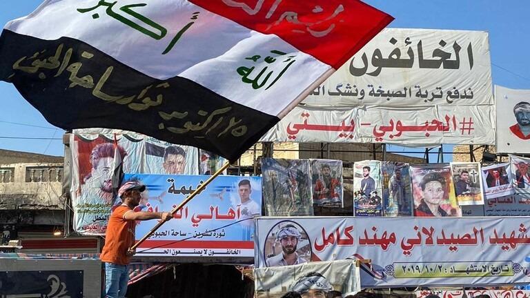 """الغليان الشعبي يتجدد في العراق والقوات الامنية تعتقل """"مندسين"""""""