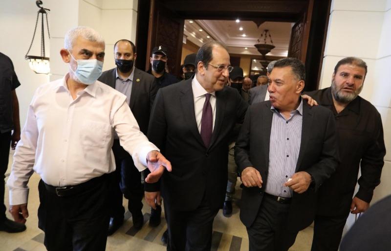 رئيس المُخابرات المصرية للمرة الأولى في غزة ... بناء مدينة سكنية جنوب القطاع
