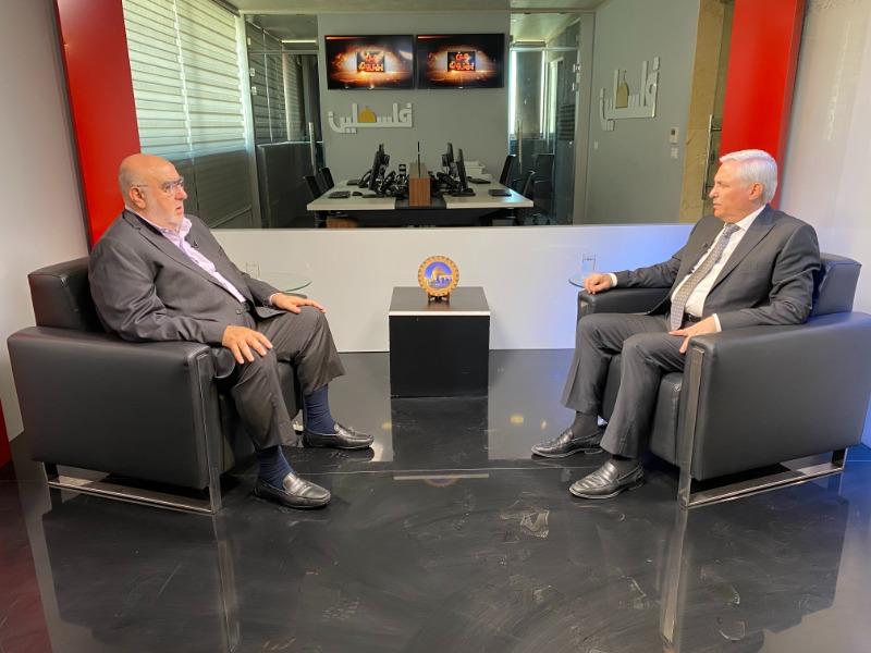 """حمدان لـ """"تلفزيون فلسطين"""": تحرّك الرئيس محمود عباس كان له صداه عربياً ودولياً"""