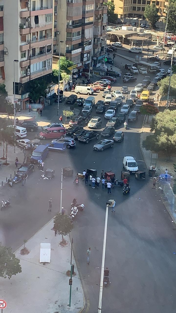 المحتجون يقطعون تقاطع الكولا الآن