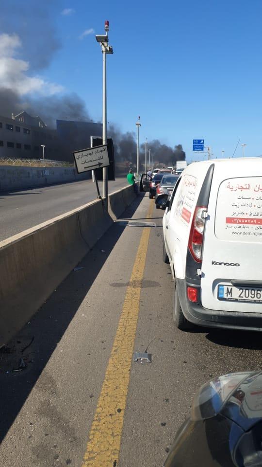 أحوال الطرقات في لبنان حسب التحكم المروري