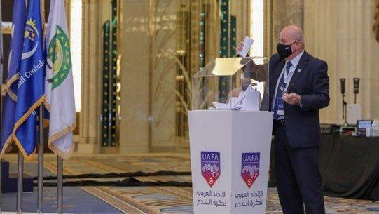 إنتخاب رئيس الاتحاد اللبناني لكرة القدم المهندس هاشم حيدر عضواً بالاتحاد العربي لكرة القدم