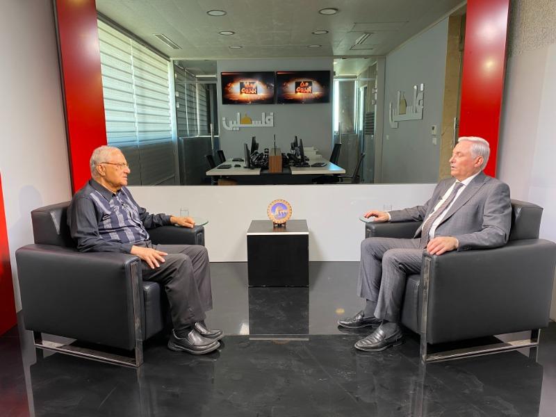 """حلقة """"من بيروت"""" تبث 7:30 من مساء غد (السبت) على تلفزيون فلسطين"""
