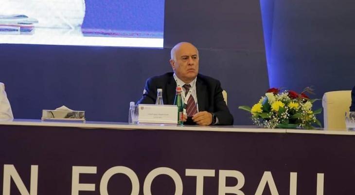 """انتخاب """"الرجوب"""" عضواً دائماً في مجلس الاتحاد العربي لكرة القدم"""