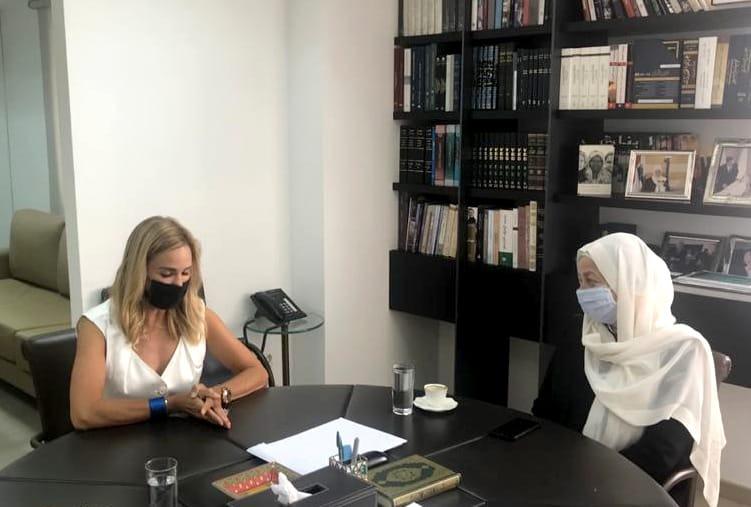 النائب بهية الحريري تلتقي المنسقة الخاصة للأمم المتحدة وسفيرة سويسرا