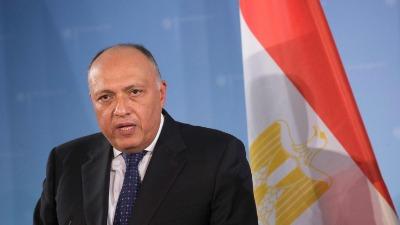 تفاصيل الاتصال بين وزيري خارجية مصر واسرائيل.. وإطلاق عملية تفاوضية شاملة