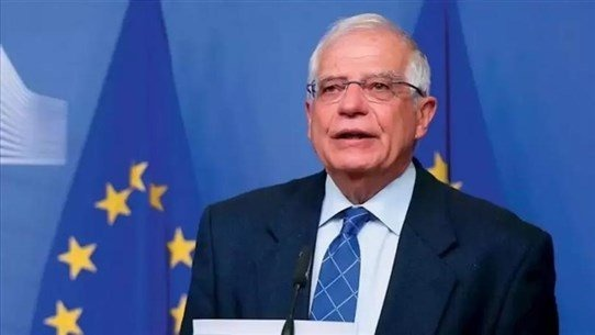 وصول الممثّل الأعلى للسياسة الخارجية في الاتّحاد الأوروبي جوزيف بوريل إلى قصر بعبدا للقاء الرئيس عون