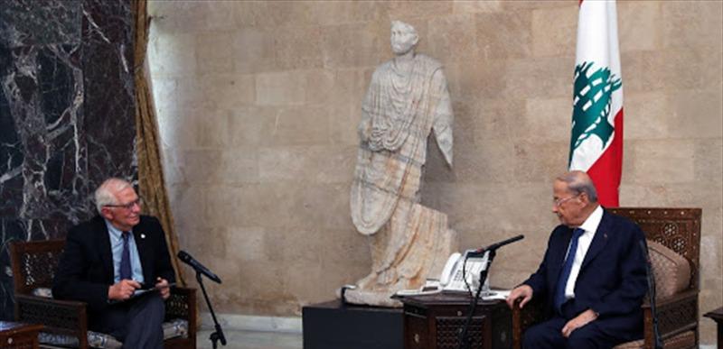 الرئيس عون خلال لقائه بوريل: خصوصية الوضع اللبناني تتطلب مقاربة واقعية وتشاركية وميثاقية في تكوين السلطة التنفيذية