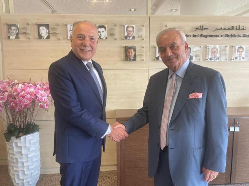 دبوسي يهنئ حرب: لتوثيق الشراكة ومتابعة المشاريع الاستثمارية في لبنان من طرابلس الكبرى