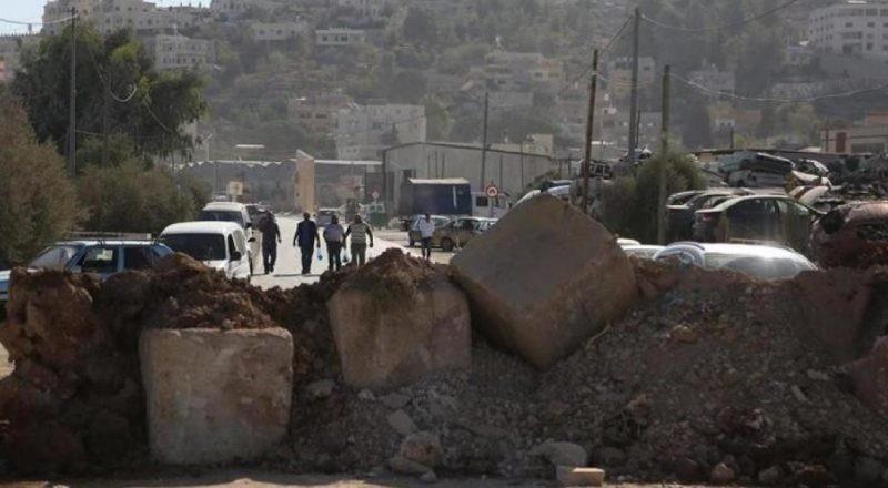 قوات الاحتلال تغلق الطرق المؤدية إلى جبل صبيح في بيتا جنوب نابلس