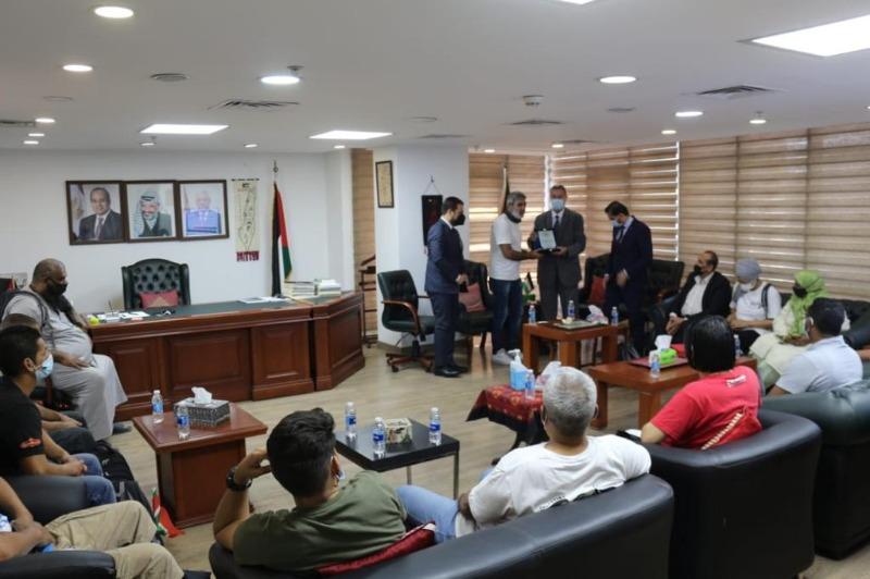 السفير دياب اللوح يستقبل وفدًا مناصرًا للشعب الفلسطيني من جنوب أفريقيا