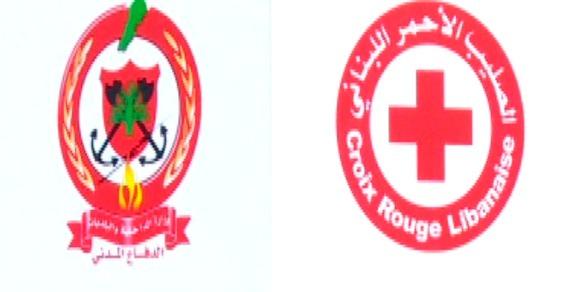 متطوعو الدفاع المدني وعناصر الصليب الاحمر توجهوا لمنطقة الرويمة للمساهمة بمحاصرة الحريق
