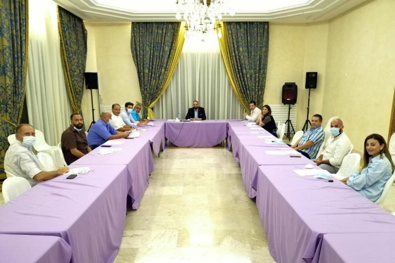 """النائب بهية الحريري تلتقي مجلس منسقية """"تيار المستقبل"""" في صيدا والجنوب"""
