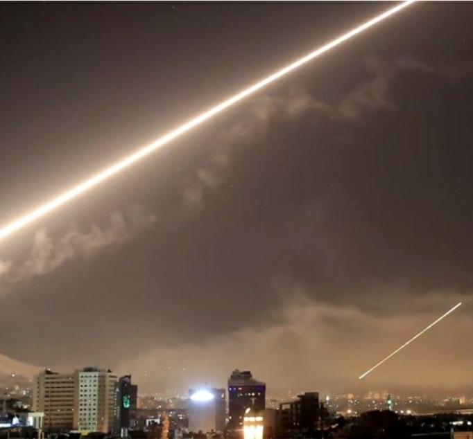 قصف إسرائيلي على سوريا