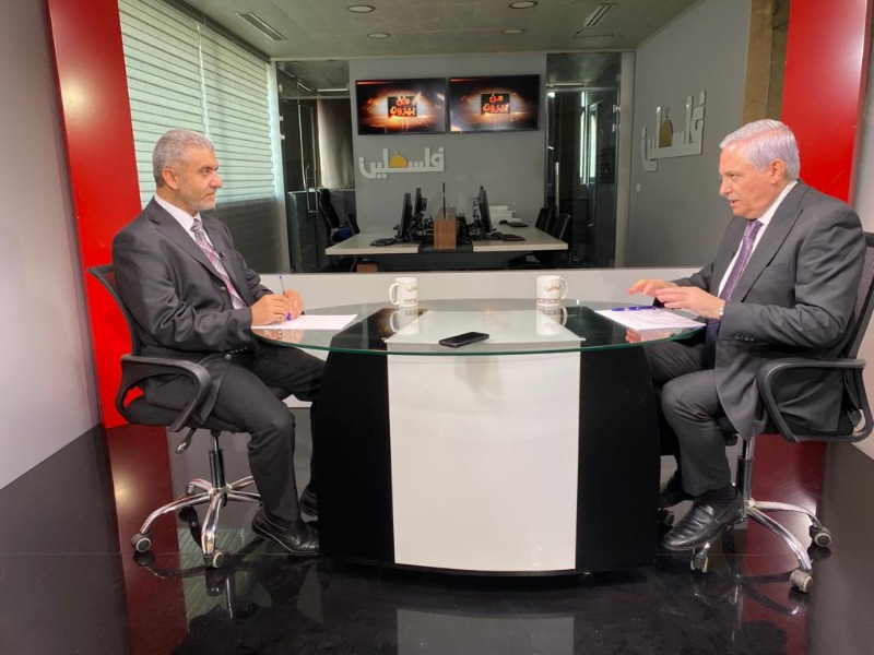 وزير العمل مصطفى بيرم ضيف الإعلامي هيثم زعيتر، 8:30 من مساء الجمعة 17-09-2021 على تلفزيون فلسطين