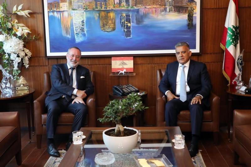 اللواء ابراهيم عرض مع سفير النروج الاوضاع وسبل تعزيز التعاون