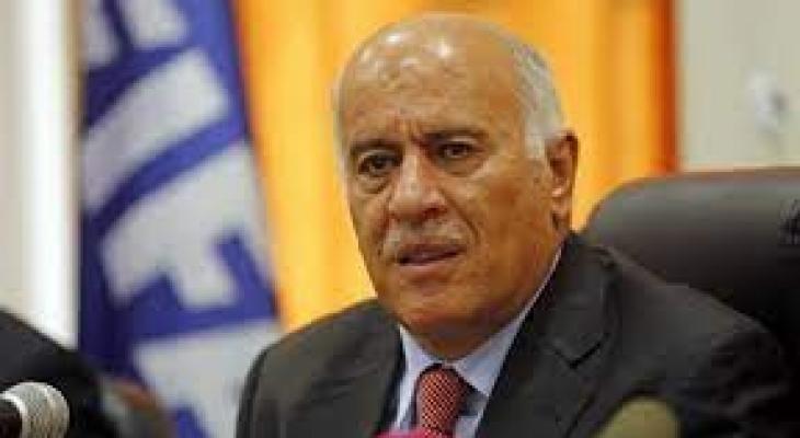"""الرجوب: ما قدمه الرئيس """"أبو مازن"""" هو تتويج مشرّف لمجمل تضحيات وصمود شعبنا"""